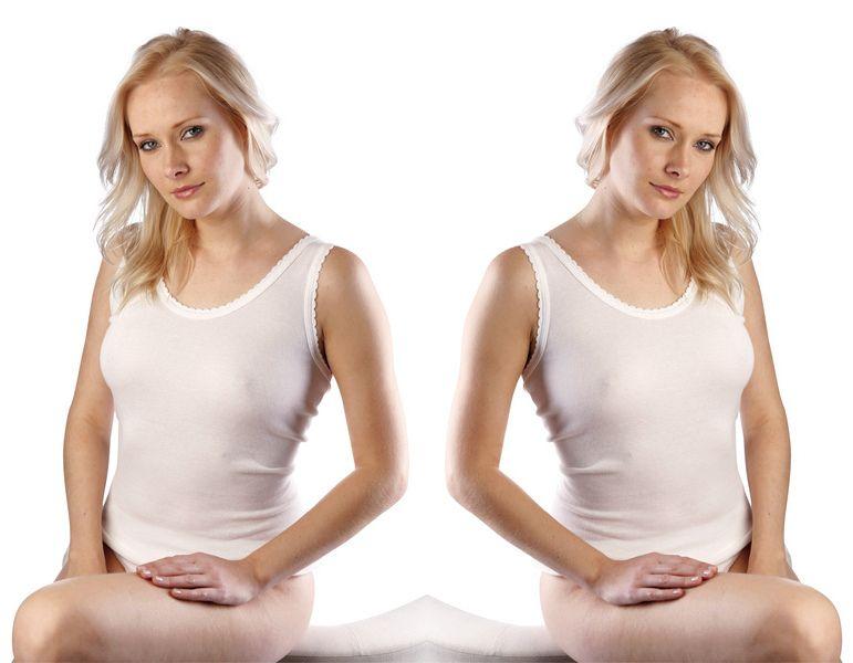 Dámská košilka MIS bílá