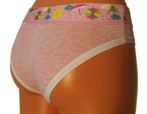 Dámské bokové kalhotky z elastické bavlny PS2640