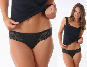 Dámské kalhotky Ms. Dita černé