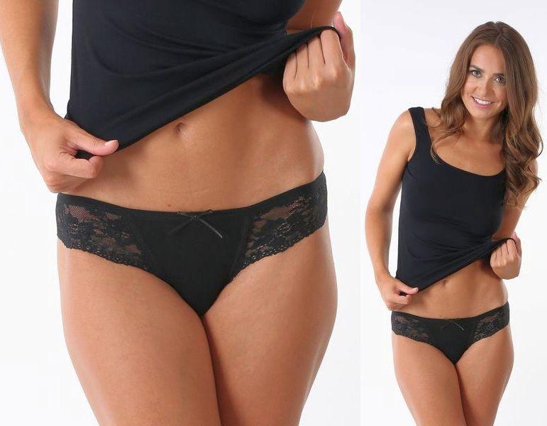 Dámské kalhotky K5370 černé