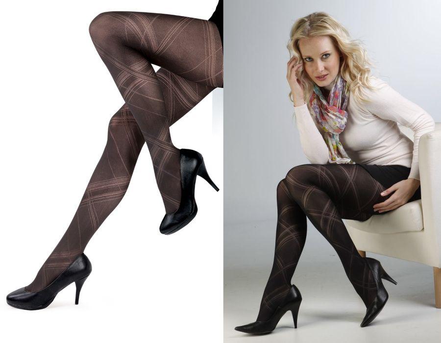 Dámské punčochové kalhoty GLORIE černé