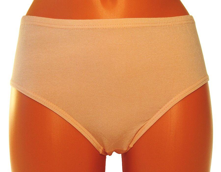 Klasické kalhotky Andrie PS219 meruňkové M