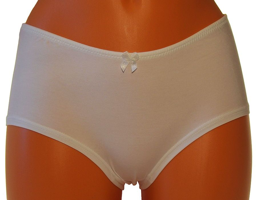 Klasické kalhotky Andrie PS2612 bílé