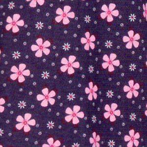 Dámská košilka La Penna modrá s růžovými květy