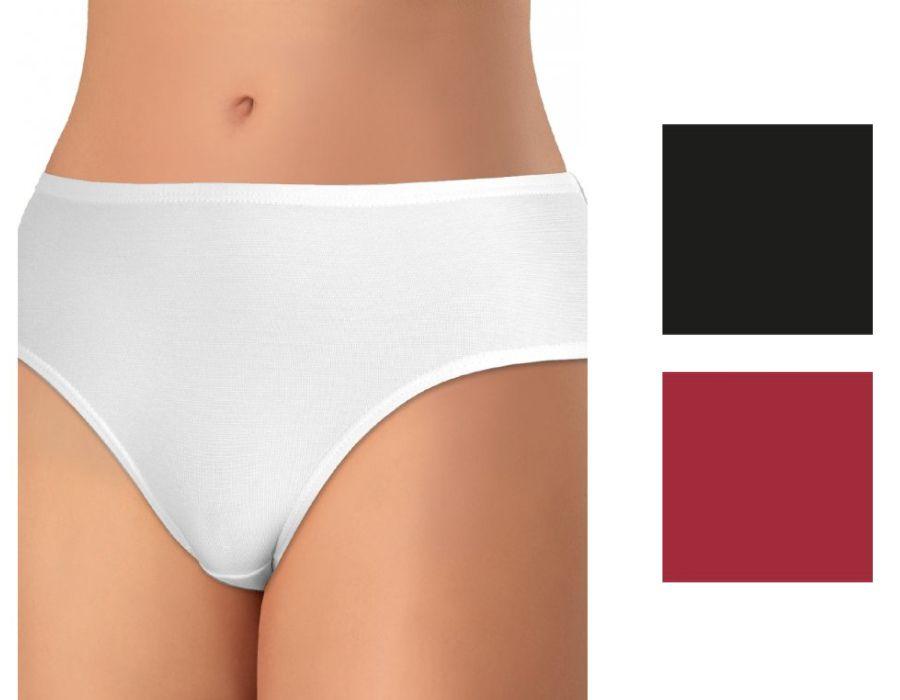 Andrie Dámské kalhotky z elastické bavlny PS219 sada4 L dc5d0841a5