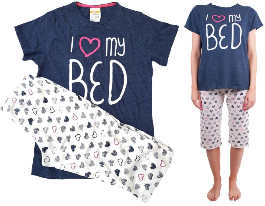 Dámské pyžamo Molvy I Love My Bed