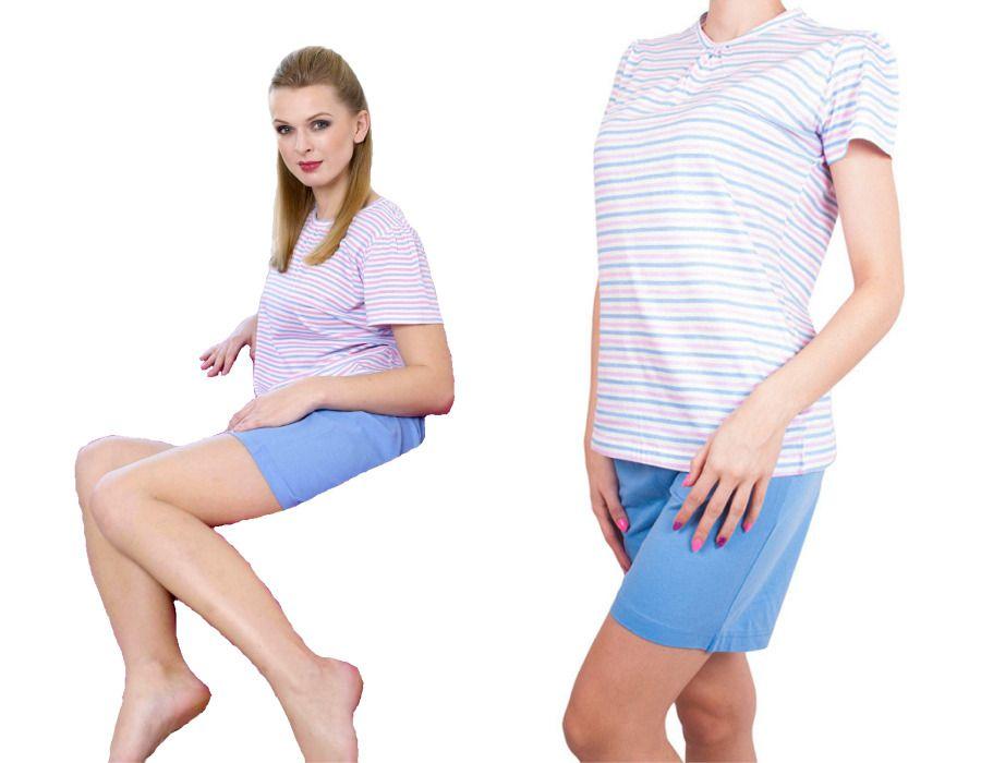 Dámské pyžamo Molvy s jemnými proužky