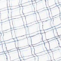 Pánské bavlněné trenýrky Molvy modro bílé kostky