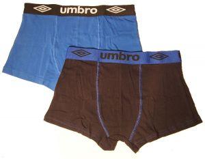 Pánské boxerky Umbro UM1700 - modročerné
