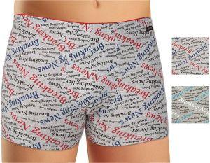 Pánské boxerky z elastické bavlny a modalu Andrie PS5352