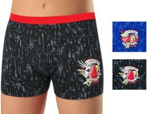 2 Pack Pánské boxerky z elastické bavlny Andrie PS5259