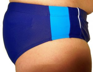 Pánské plavky slipové Molvy modré
