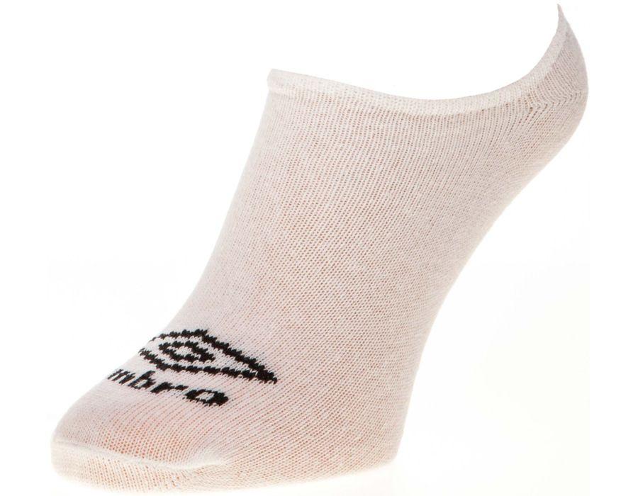 Ponožky Umbro bílé kotníkové